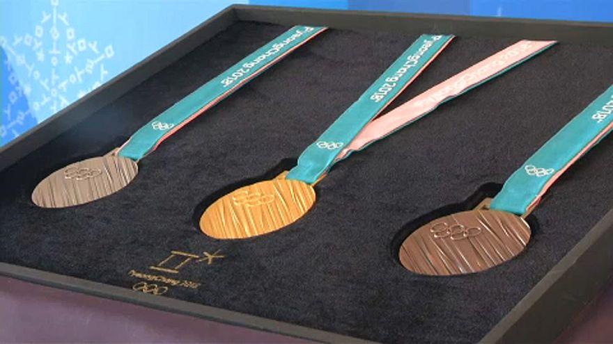 Hangul betűk az olimpiai érmeken