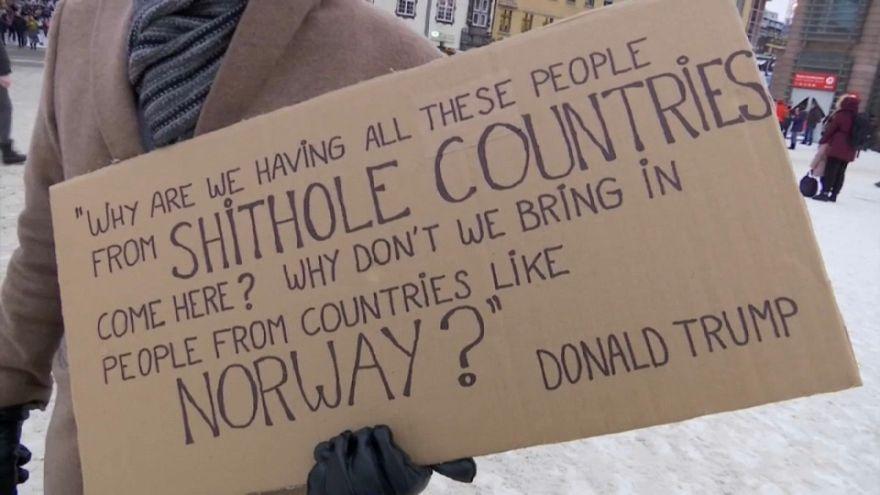 """Les Norvégiens disent """"non merci"""" à Trump"""