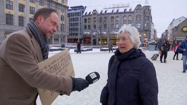 """Noruegueses a Trump: """"Não, obrigado!"""""""