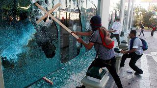 Ονδούρα: Επεισοδιακές διαδηλώσεις κατά του προέδρου
