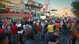 La oposición hondureña protesta por fraude electoral
