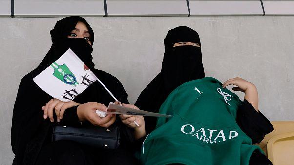 Σ. Αραβία: Γυναίκες στο γήπεδο!