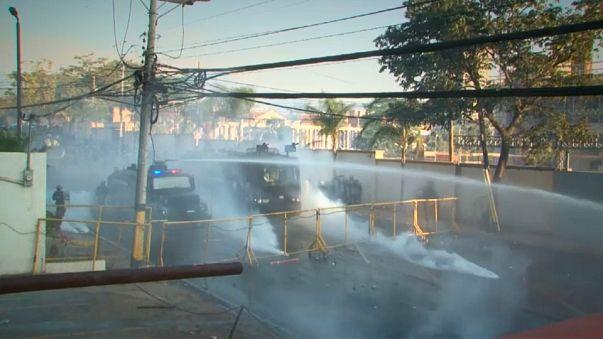 Протесты в Гондурасе: оппозиция грозит национальной забастовкой