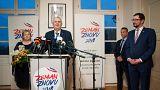 Le sortant Milos Zeman vainqueur du premier tour de l'élection présidentielle tchèque