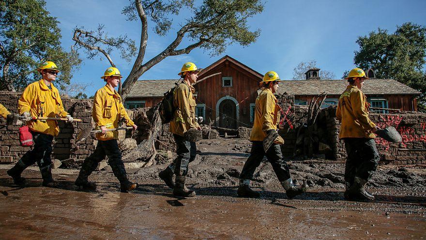 Montecito défigurée par les coulées de boue
