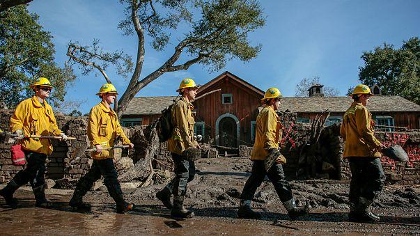 Deslizamentos de terra matam quase duas dezenas de pessoas na Califórnia