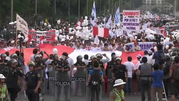 Pérou : les pro-Fujimori se mobilisent