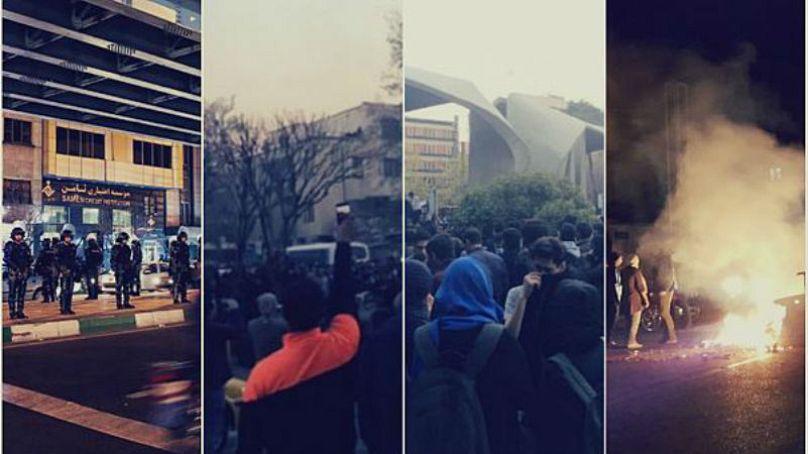 اعتراضات دی ماه در ایران