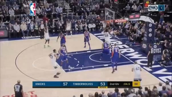 NBA: Timberwolves comeback to beat Nicks
