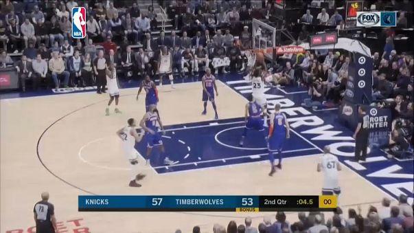 NBA: Timberwolves comeback to beat Nicks
