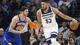 NBA: Timberwolves schlagen Knicks mit 118 zu 108