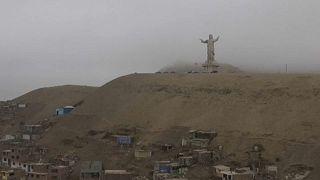 Chile-Peru: templomok és Krisztus-szobor állt lángokban a pápa érkezése előtt