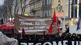 Zehntausende protestieren gegen Österreichs Regierung