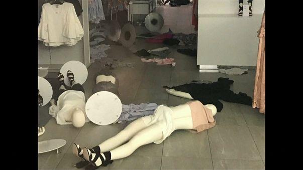 Destrozadas seis tiendas de H&M en Sudáfrica