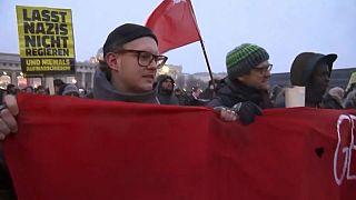 Protestas por la deriva extremista del Gobierno austriaco
