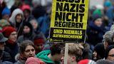 """Proteste a Vienna: """"Non lasciate nazisti governare"""""""