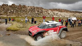 Dakar Rallisi'nde 7. etap sona erdi