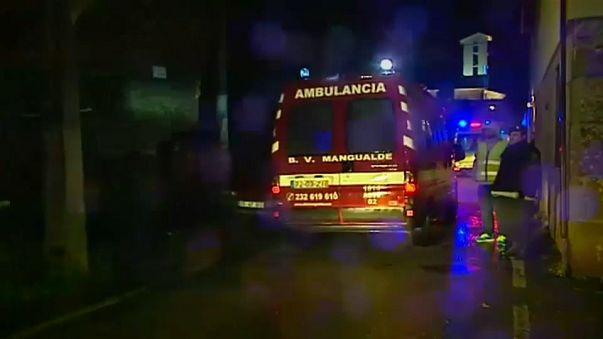 Al menos 8 muertos y 36 heridos en un incendio en Portugal