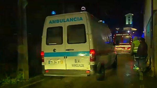 Portekiz'de yangın ve izdiham: 8 ölü