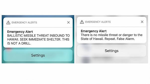 Hawaii: False ballistic missile alert sparks panic
