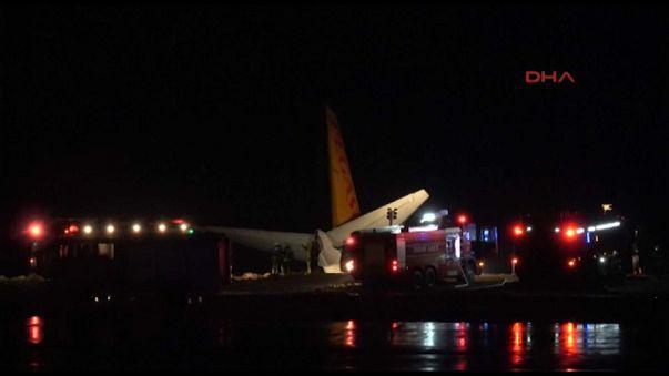 Turchia: aereo fuori pista a Trebisonda