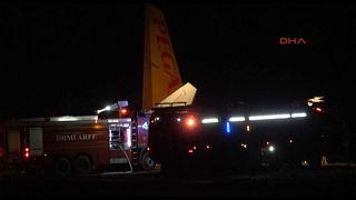 Kisodródott egy repülőgép Törökországban