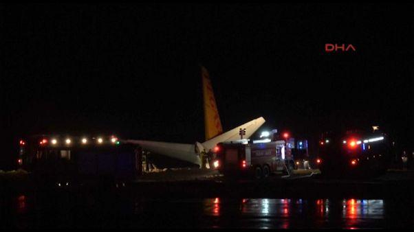 Turquie : un avion manque son atterrissage