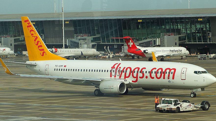 Trabzon'da uçak kazası korkuttu