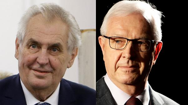 Russia-friendly Czech president faces pro-EU rival in run-off