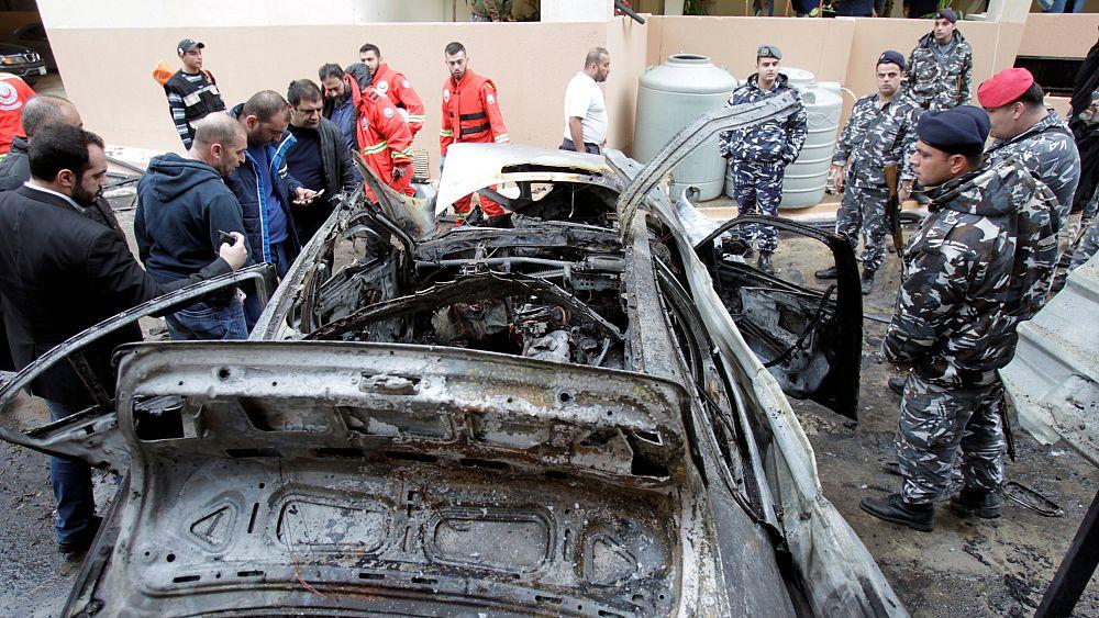 إصابة القيادي الحمساوي محمد حمدان في تفجير بجنوب لبنان   Euronews