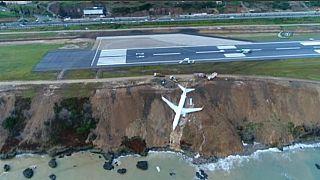 Turchia: aereo fuori pista a Trebisonda, illesi