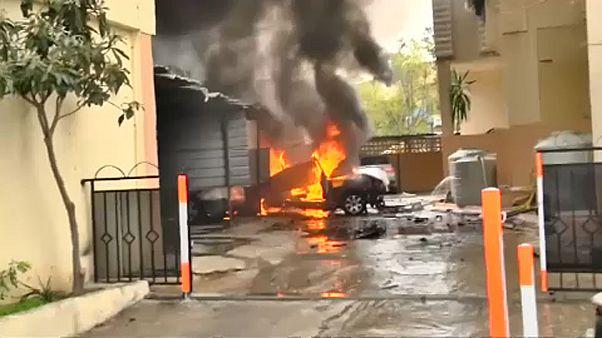 Libanon: pokolgép robbant egy Hamász-vezető autójában
