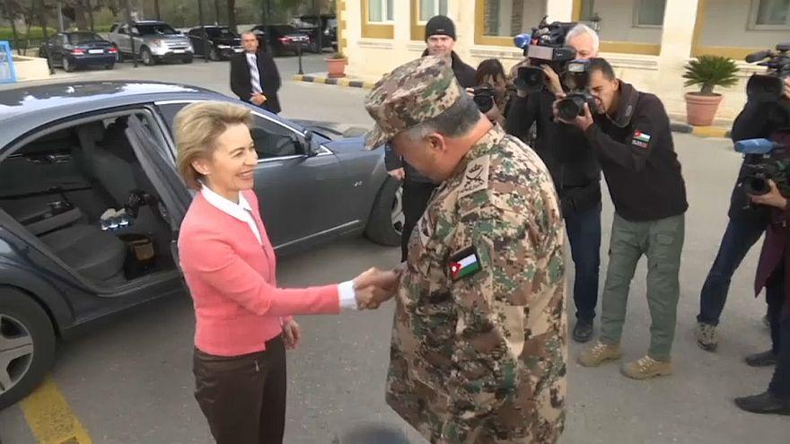 """Ursula von der Leyen: """"Jordanien muss stabil bleiben"""""""