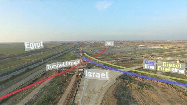 Israel destroys third tunnel in two months on Gazan border