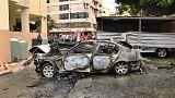 Hezbollah has blamed Israel for bombin a Hamas official