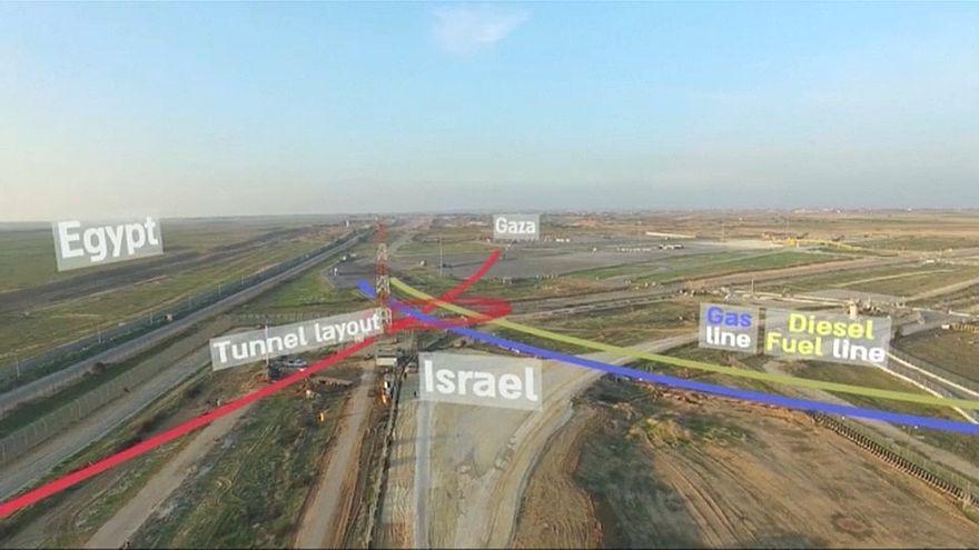 Израиль разрушил туннель, построенный ХАМАС