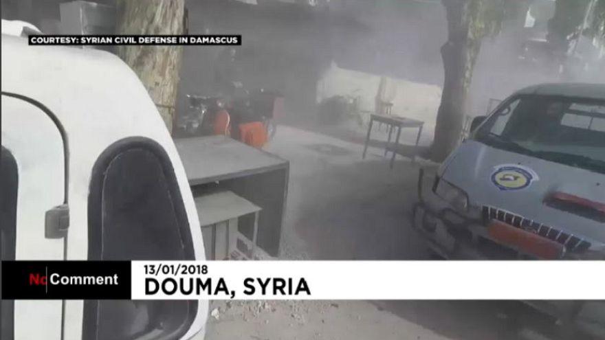 Siria, colpi di mortaio a Douma, tre morti