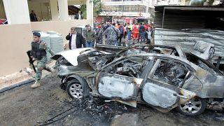 Lübnan'da Hamas yetkilisi olduğu iddia edilen Hamdan'a bombalı saldırı