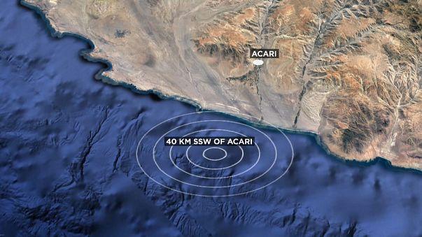 Peru', terremoto magnitudo 7.1: un morto, decine di feriti