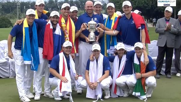 Europeus triunfam no golfe