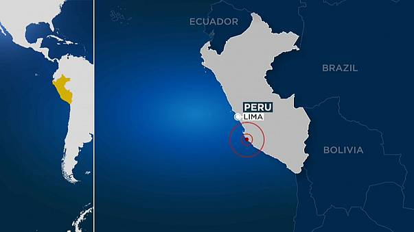 'One dead, scores injured' in Peru earthquake