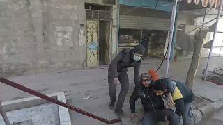 Ataques com morteiros atingem cidade de Douma