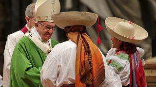 Le pape appelle à l'hospitalité envers les migrants