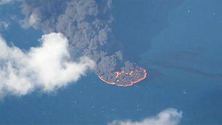 Пожар у дельты Янцзы