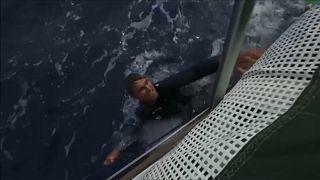 Volvo Ocean Race'de tehlikeli kaza