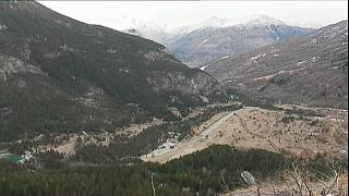 Мигранты замерзают в Альпах