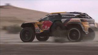Peterhansel wins stage 8 of the Dakar rally