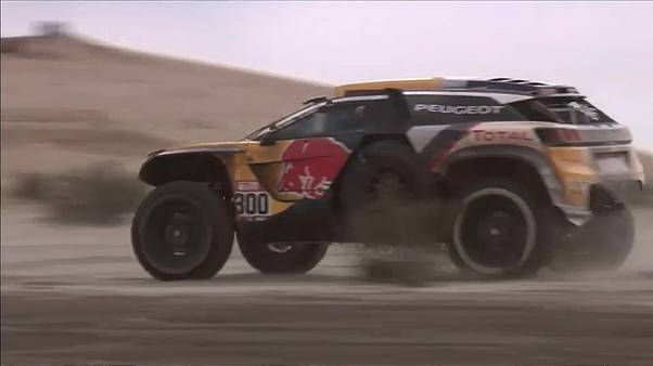 Peterhansel wins stage 8 of the Dakar rally