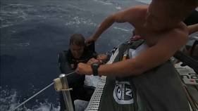 Man overboard! Volvo Ocean race sailor rescued unharmed