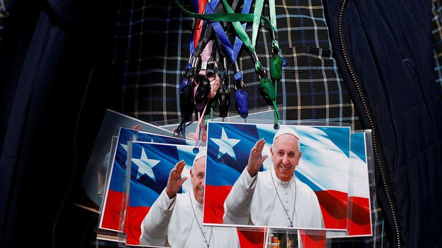Le pape commence lundi son voyage au Chili et au Pérou